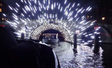 Winterspecial: Special Light Art Canal Tour